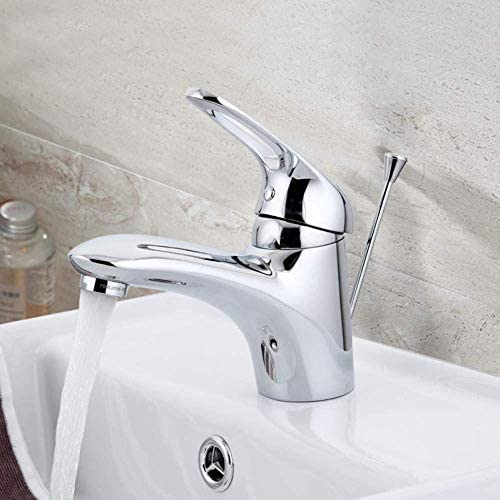 Gulakey 蛇口キッチンタップ流域水栓デッキはミキサー水タップ滝シンクタップ降雨バスルームシンクミキサー蛇口をマウント