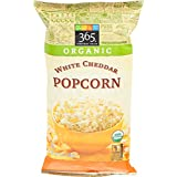 365 Everyday Value Organic Popcorn White Cheddar Cheese, 4 oz