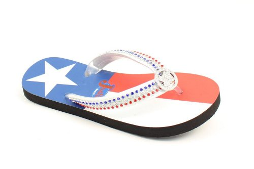 Justin Ladies Texas Flip Flops -