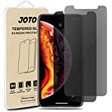"JOTO Privacy Screen Protector for iPhone Xs Max, Anti-Spying Tempered Glass Screen Film Guard for Apple iPhone Xs Max 6.5"" 2018 Release (2-Pack)"