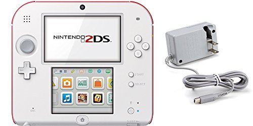 (2 Items): Nintendo 2DS - New Super Mario Bros. 2 Edition and Tomee AC Adapter ()
