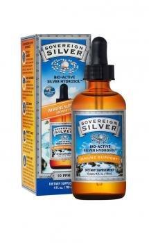 Dropper Top Silver (SOVEREIGN SILVER, 4 oz. dropper-top)
