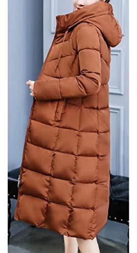 Femminili Sottile Sicurezza Piumino Leggeri Comprimibile Di 1 Cappotti Puffer wBxfH7BqX