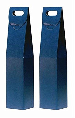 Duhalle 170 Estuches para Botella de Vino cartón Azul ...