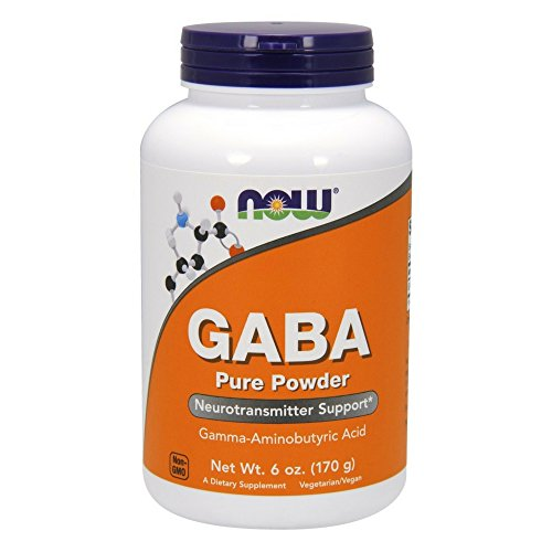 NOW GABA Powder, 6-Ounces