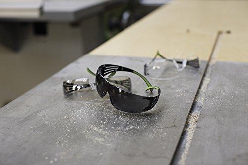 516NrpLGp4L Peltor Sport SecureFit 400 Glasses, 3 Pack: Clear + Amber + Gray Lenses, Anti Fog