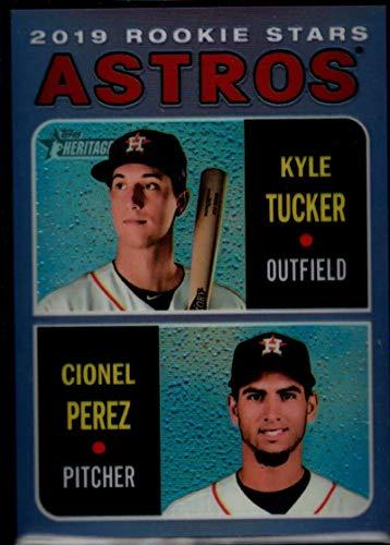 - Baseball MLB 2019 Topps Heritage Chrome Refractors Purple Hot Box #THC-227 Cionel Perez/Kyle Tucker Astros