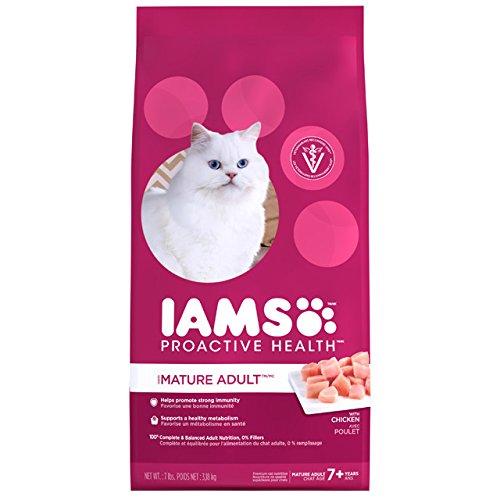 IAMS PROACTIVE HEALTH Mature Adult  Chicken Recipe Dry Cat F