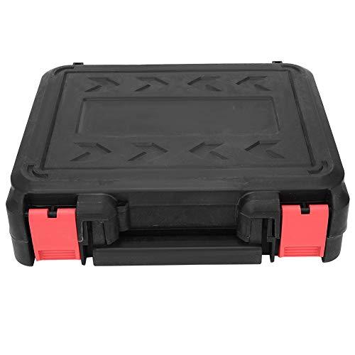 Grande Vente Clé électrique 220W 98VF, clé sans fil EU Plug 80-240V pour visser, démonter et installer, installation de pneus, installation de garde-corps(2Pcs Battery 1Pc Charger)  ALdkD