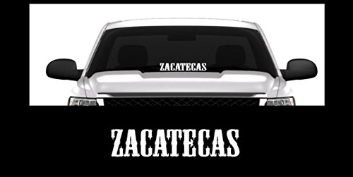 """ZACATECAS Mexico Nopaleros 23"""" Window Decal Sticker for sale  Delivered anywhere in USA"""