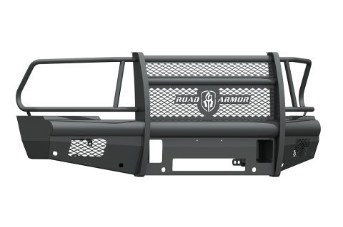 am Hd Front Vaquero Series Bumper With Full Guard, Non-Winch Insert - 410VF6B (Hd Front Winch Bumper)