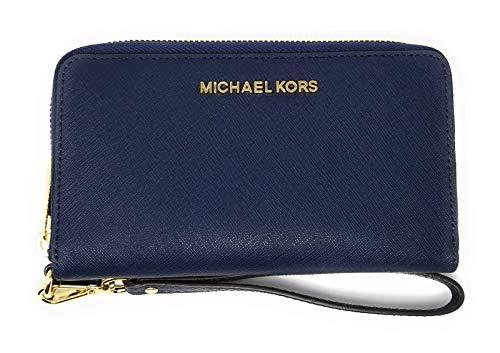 Michael Kors Women's Jet Set Travel Large Smartphone Wristlet (Navy) by Michael Kors (Image #2)