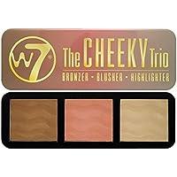 The Cheeky Trio W7 Powder Palette 0.74.Oz.