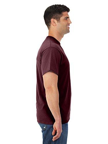 Jerzees 5,6oz., 50/50mezcla de peso pesado Camiseta (29M) Menta cool