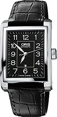 Oris Rectangular Date Mens Watch 56176574034LS