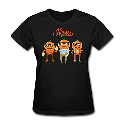 (Hipster Halloween Women's Creative Design)