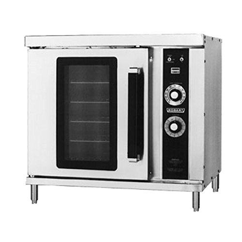Hobart HGC20 Half Size Single Deck Natural Gas Convection...
