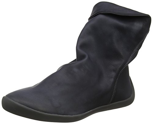 Marron 021 Softinos Bottines Smooth Anthracite Femme NAT332SOF AqwF0n4H