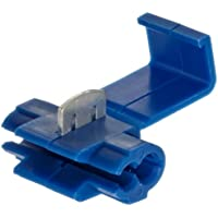 Morris Products 10774 Quick Splice Connector, Blue, 18-14 Wire Range (Pack of 25)
