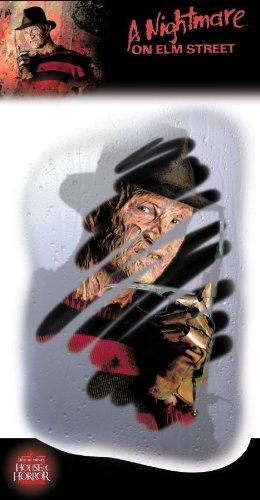 Rubie's Nightmare on Elm Street Freddy Glass Grab Misty Face Horror Theme Decoration]()