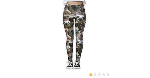 pipigo Girls Winter Thicken Fleece Stretchy Printed Leggings Tights Pants