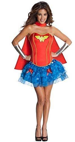 Corset Robin Licensed Womens Fancy Dress Superhero Batman Costume