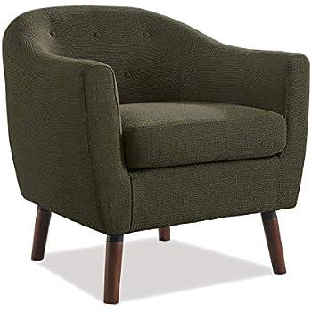 Amazon Com Jgw Furniture 3500 20 1408 Accent Chair Grey