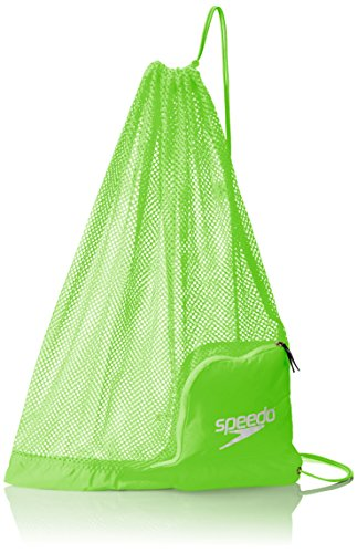 Speedo Ventilator Mesh Equipment Bag, Jasmine Green -
