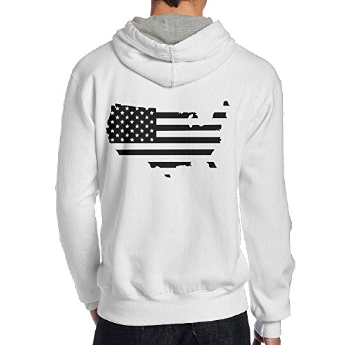 Usa Map Mens Hoodie - 6
