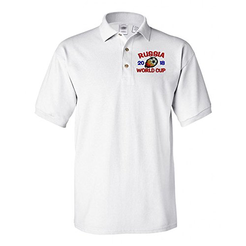 Polo World Cup - FIFA World Cup 2018 Polo Shirt White X-Large