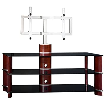 BUSH FURNITURE Segments Small Swivel TV Stand