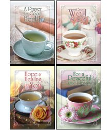 Tea for Two - KJV Scripture Greeting Cards - Boxed - Get Well