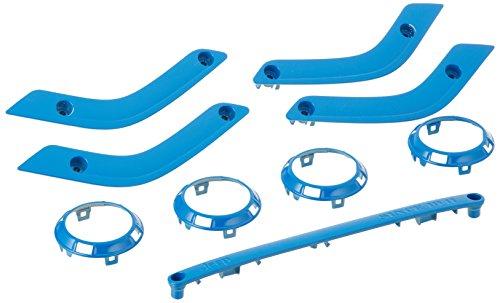 Genuine Jeep Accessories 82212839 Cosmos Blue Trim Kit
