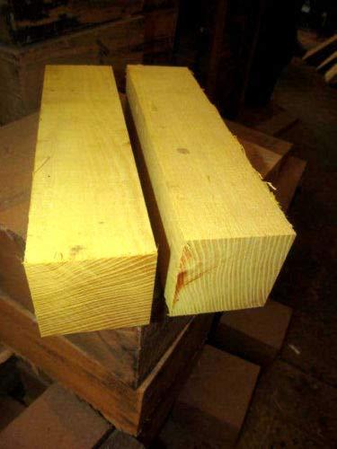 (Osage Orange Lathe Turning Exotic Wood Bowl Blanks Blocks, 2