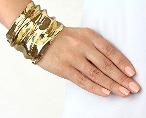 Annelise Michelson Bracelet Manchette Plaqué Or Femme
