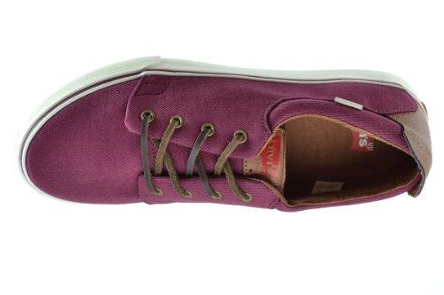 Men's Sneakers White 516251 32r Levis Fashion Justin Wine BRqwn5R4Fx