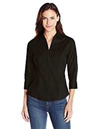 Riders by Lee Indigo Women's Bella Easy Care Woven Shirt