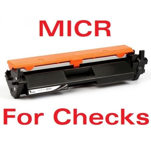 (New Era Toner - MICR (CF217A - with Chip) Replacement Toner Cartridge for HP 17A, Laserjet Pro M102, M130fn, M130fw, M130nw Printer - for Checks)
