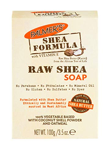 Palmer's Shea Formula Moisturizing Raw Shea Butter Soap, 3.5 oz. (Pack of 12)