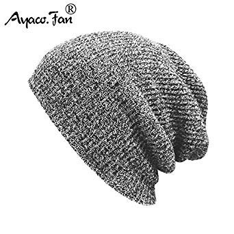 3dd1554af33992 Winter Hats for Men Women Knit Casual Hat Crochet Baggy Beanie Ski Slouchy  Chic Knitted Cap Skull Autumn Hat for Girls Boys New: Amazon.in: Beauty