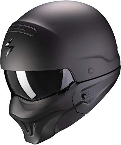 Scorpion Motorradhelm EXO-COMBAT EVO Matt Black, Schwarz, M