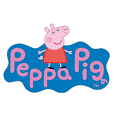 Ravensburger Peppa Pig London Bus, 24pc Giant Shaped Floor Jigsaw Puzzle: Toys & Games