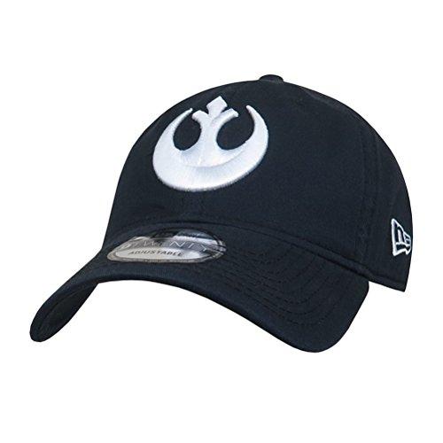 New Era Star Wars Rebel Logo Navy 9Twenty Adjustable Hat (Rebel Cap Ball)