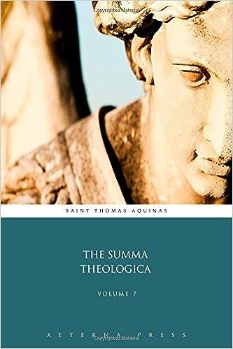 The Summa Theologica: Volume 7 (9 Volumes)