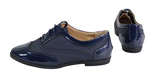 Bleu nbsp;– nbsp;Mujer estilo Derby by nbsp;– Shoes nbsp;Zapato Plate xwa6q08Y