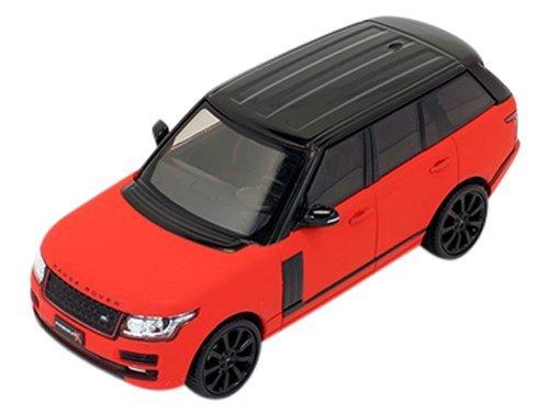 PREMIUM X 1/43 Range Rover Black pack 2013 Matt Red (Red Rover Range)