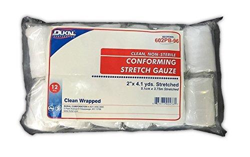 Conforming Stretch Gauze 12-Rolls 2