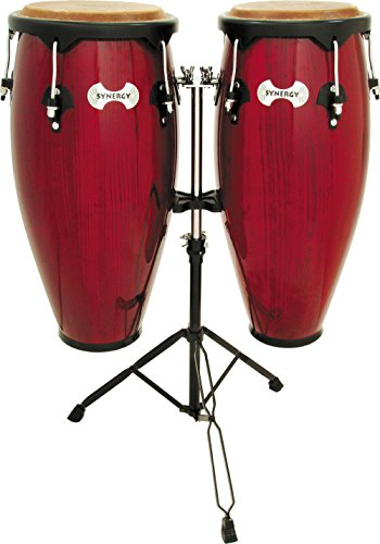 Toca 2300RR Conga Drum Set, Red