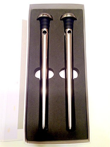 Everyday Practical Stainless Steel Beer Chiller Sticks, Set of 2