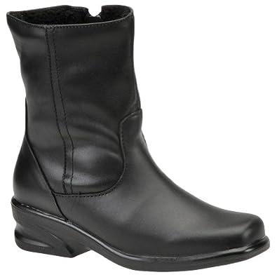 Amazon.com | Toe Warmers Katie Women N/S Round Toe Leather